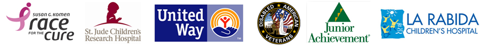 charities and organizations we support