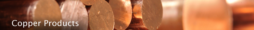 wide selection of copper products from full line service center