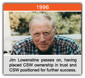 Jim Lowenstein passes on