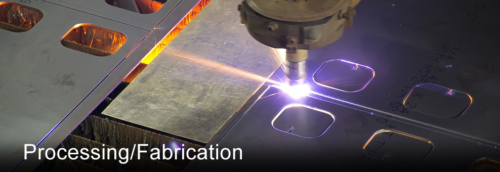 plasma and laser cutting steel
